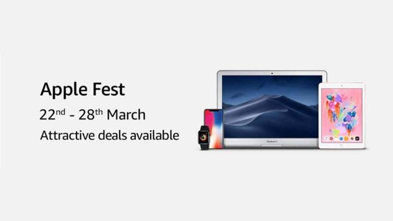 amazon apple fest from march 22 to March 28