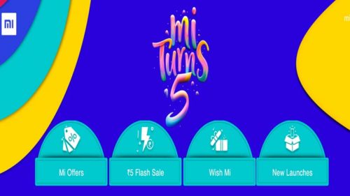 Mi Turns 5 Sale in India:  xiaomi turns five in India Redmi Note 7 Pro, Mi TV LED 4A PRO 32-inch and Redmi Y3 for Rs 5 in anniversary sale offers