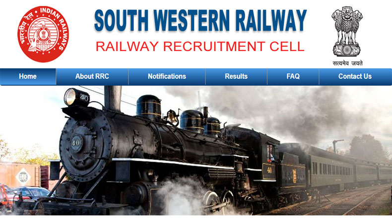 Railway Jobs 2019: RRB South Western Railways Latest Job