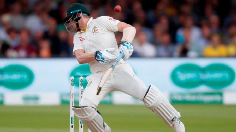 Ashes 2019 Steve Smith out