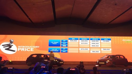 Hyundai Grand i10 Nios Launched price features