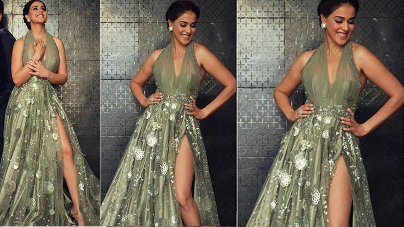 Genelia D'Souza set the internet fire with her sexy hot look