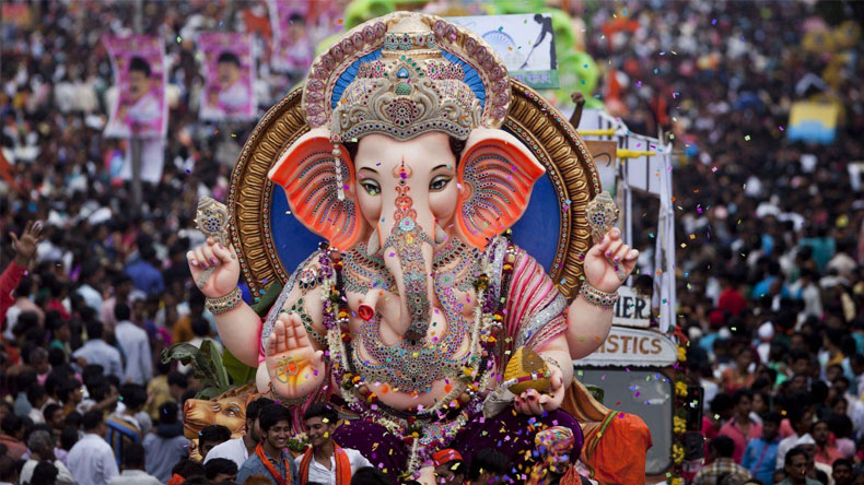 Happy Ganesh Chaturthi GIF messages and wishes for 2019