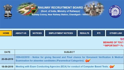 RRB JE CBT 2 Answer Key 2019