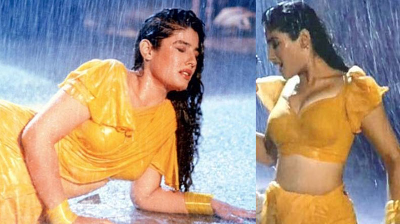 Raveena Tandon sexy hot video Back you in The 90s