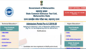 Maharashtra MHT-CET 2020 Schedule Released